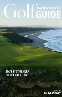 golf guide magazine cover